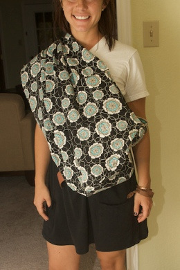Tutorial Reversible Baby Sling With Padding Sewing