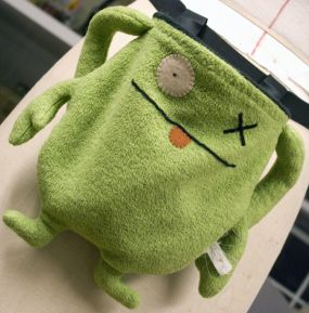 Tutorial Turn An Ugly Doll Into A Fun Chalk Bag Sewing