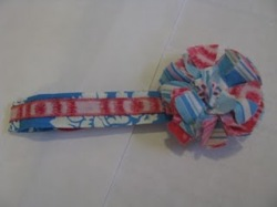 Tutorial Easy ribbon headband Sewing