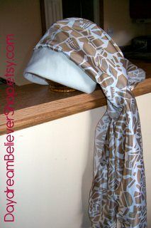 Tutorial Chemo Cap Headscarf Sewing