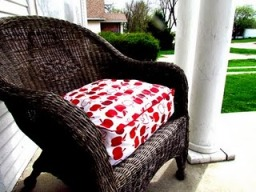 sewing patterns for patio chair cushions director replacement covers tutorial: outdoor cushion with piped edges –