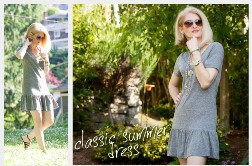 b57df6875 Tutorial  Drop waist t-shirt dress – Sewing