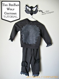 Tutorial Big Bad Wolf Costume Sewing