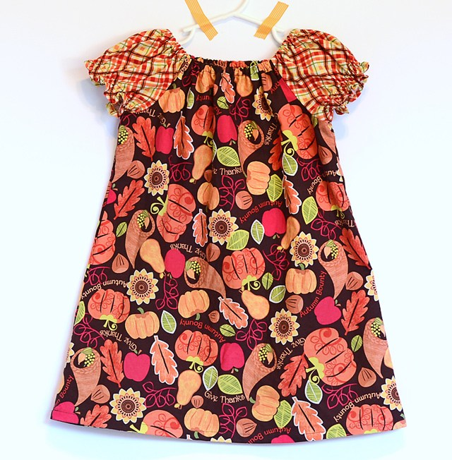 Free Pattern Peasant Dress For Toddler And Little Girls Sewing