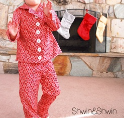 Free pattern christmas pajamas for the little ones sewing for Christmas crafts for little ones