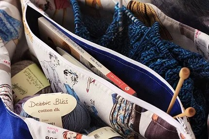 Tutorial: Add a center divider pocket when making a bag