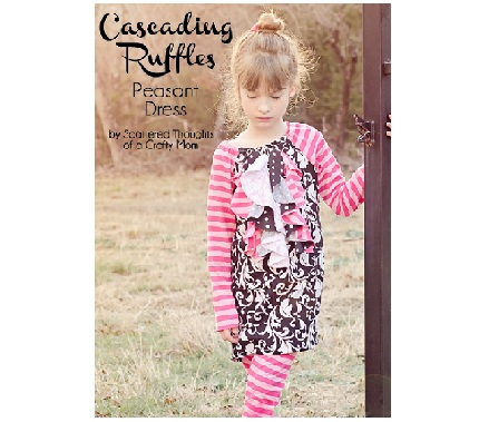 Cascading-ruffle-peasant-Dr