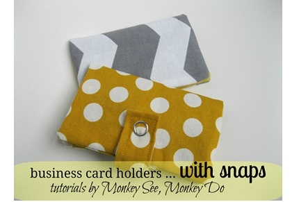 Tutorial business card wallet with snap closure sewing next pattern tutorial business card wallet reheart Image collections