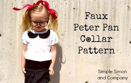 Faux Peter Pan Collar Pattern