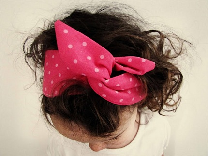 Tutorial Wired Fabric Headbands Sewing