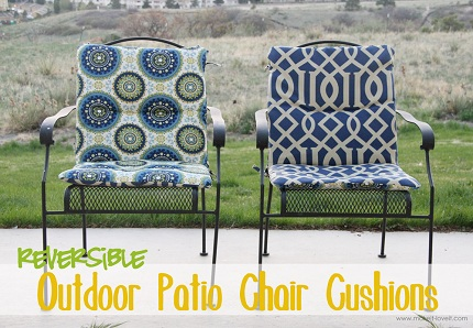 Tutorial Recover Your Patio Chair Cushions Sewing