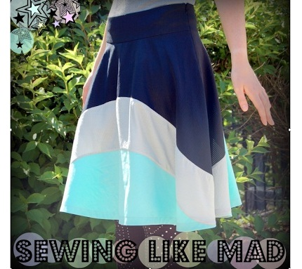 Tutorial Draft A Pattern For A Flared Skirt Sewing
