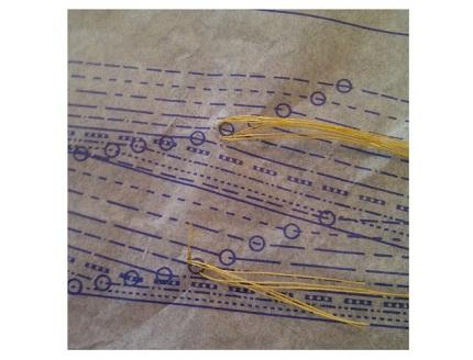 reinforcing pattern markings