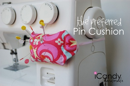 Tutorial: Pincushion that ties around your sewing machine – Sewing