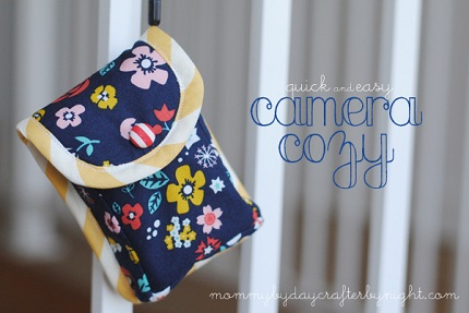 Quick and Easy Camera Cozy Tutorial
