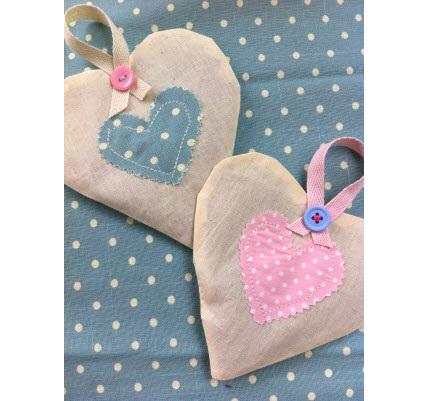 Tutorial: Lavender heart sachet