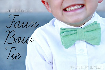 Faux Bow Tie Main