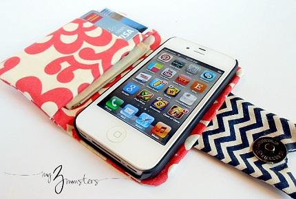 iPhone wallet inside