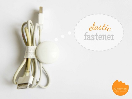 Tutorial: Make a cord keeper from scrap elastic