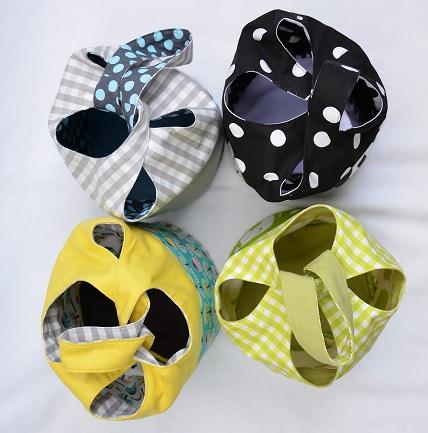 Free pattern: Cloverleaf Bag
