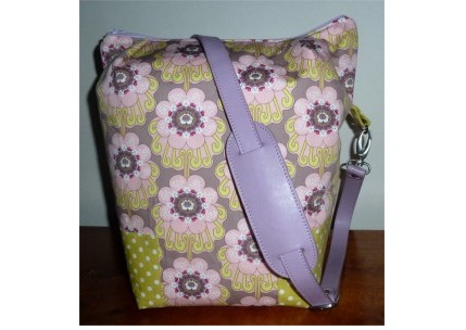 Tutorial: Swag Bag roomy zippered tote