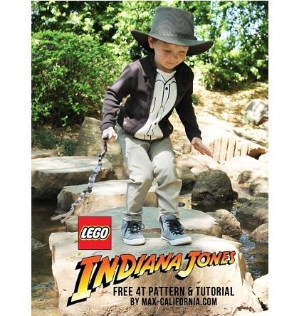 Free pattern: Lego Indiana Jones costume shirt