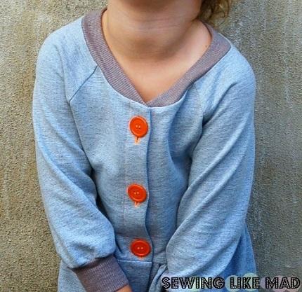 Sweatshirt-Dress-Placket-DIY-3