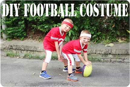 Tutorial: Football uniform Halloween costume