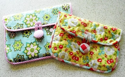 Tutorial: Easy quilted iPad sleeve