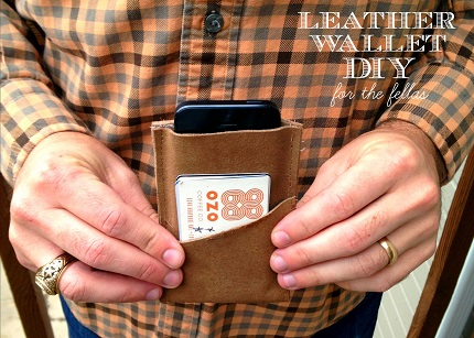 Tutorial: Simple leather wallet