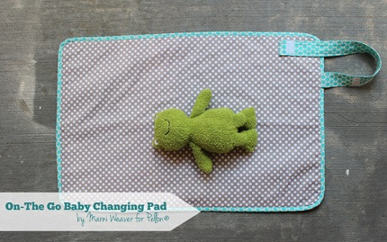 Tutorial: On the Go Baby Changing Pad