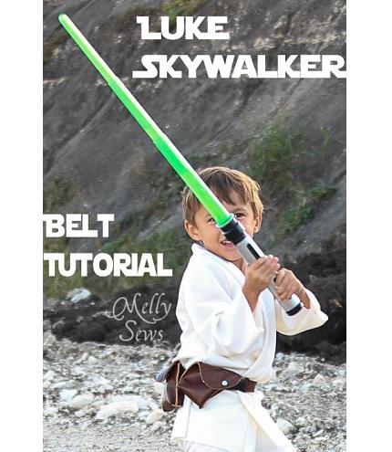 Tutorial: Luke Skywalker leather belt