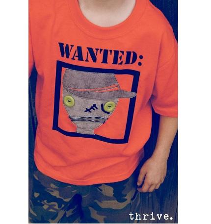 Tutorial: Zombie Apocalypse appliqued t-shirts