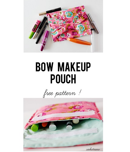 Tutorial: Bow Makeup Pouch