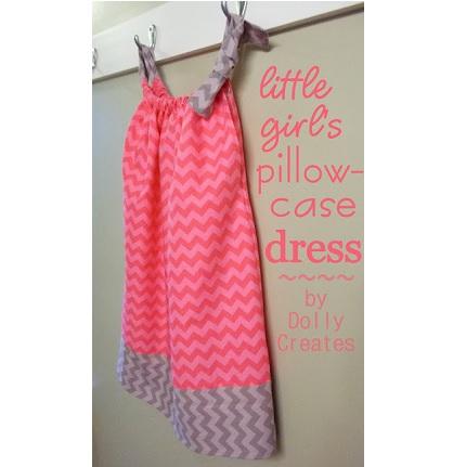 Tutorial: Little girl's pillowcase dress