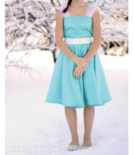 Tutorial: Frozen-inspired dress