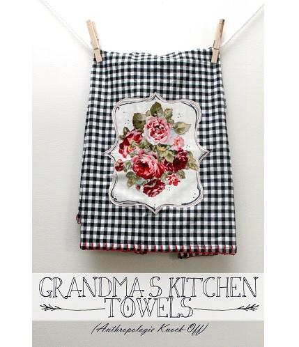 Tutorial: Grandmas Kitchen Towels