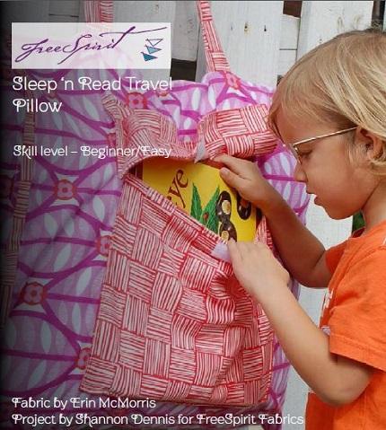 Tutorial: Sleep 'N Read Travel Pillow