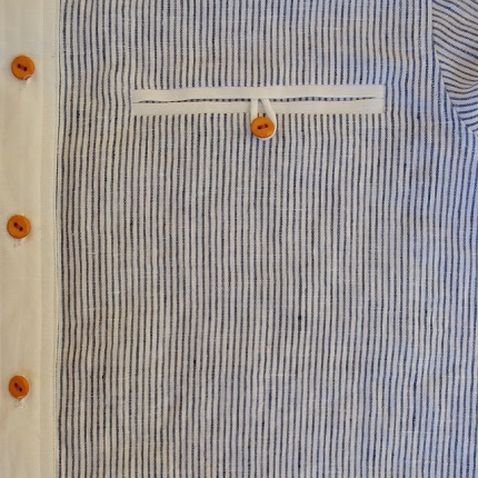 Tutorial: Double welt pocket with a button loop closure