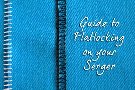 Tutorial: Flatlocked serged seam