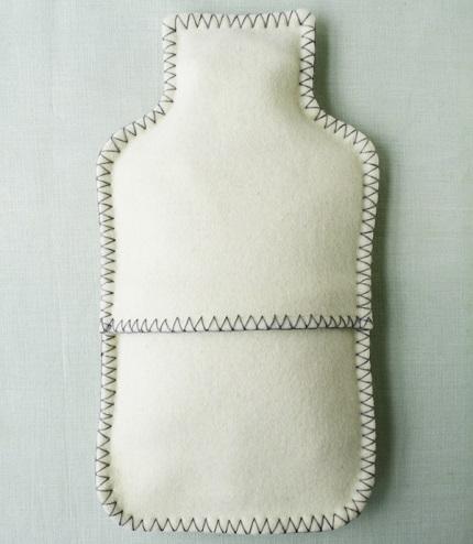 Tutorial: Felt hot water bottle cover