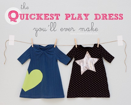 Tutorial: Quickest Toddler Play Dress