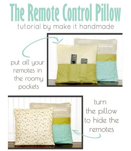 Tutorial: Remote control pocket pillow