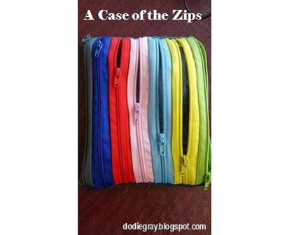 Tutorial: Make a pouch from zippers