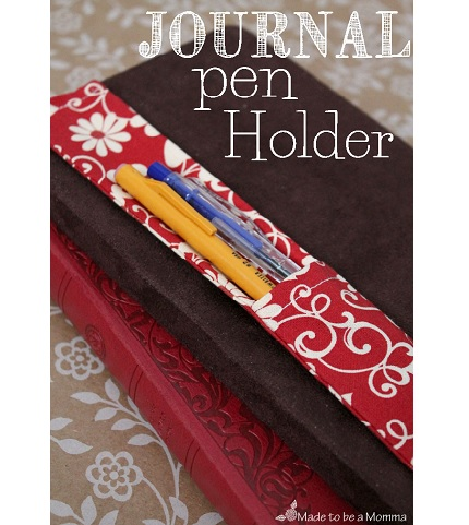 Tutorial: Journal pen holder