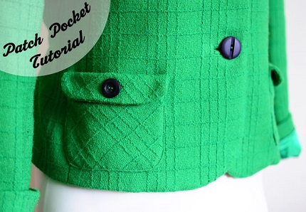 Tutorial: Sew & attach patch pockets that look awesome