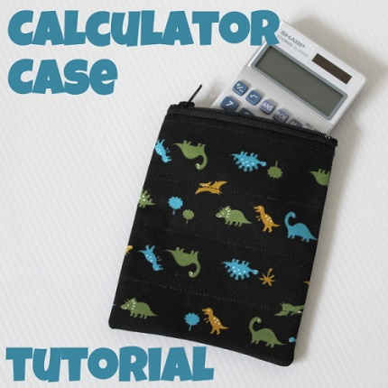 Tutorial: Padded calculator pouch