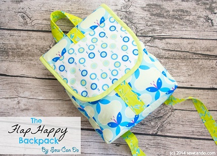 Tutorial: Flap Happy Backpack for kids