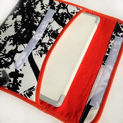 Marimekko iPad case with a dense foam padding