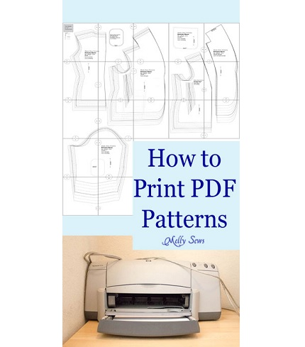 Video tutorial: Printing PDF patterns on your home printer